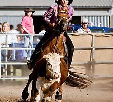 Catch 'em Cowgirl by Carol Ritchie