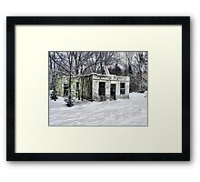 Haven Modern Motel Framed Print