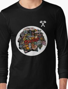 Chicago Blackhawks Logo 3 Long Sleeve T-Shirt