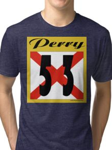 ALABAMA:  53 PERRY COUNTY Tri-blend T-Shirt