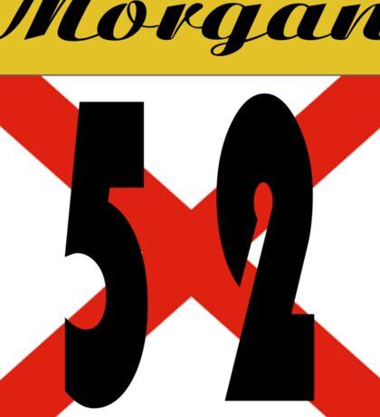 ALABAMA:  52 MORGAN COUNTY Sticker