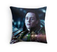 Loki - The Dark World XXI Version I Throw Pillow