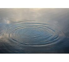 Water Ripple Photographic Print