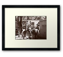 Rouseabout and the Rascal Framed Print