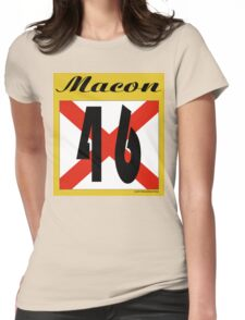 ALABAMA:  46 MACON COUNTY Womens Fitted T-Shirt