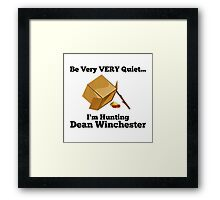 Dean Trap by @nekothesunshine on Twitter Framed Print