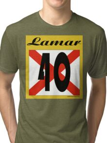 ALABAMA:  40 LAMAR COUNTY Tri-blend T-Shirt