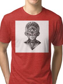 Ornate Frieza Tri-blend T-Shirt