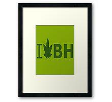 I Love BH Framed Print