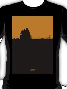FALLOUT 4 - 'Settlement' Minimal Silhouette Design T-Shirt