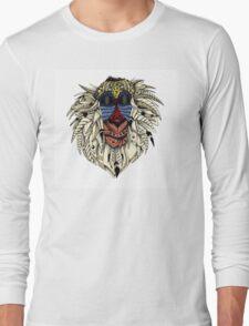 Ornate Color Rafiki Long Sleeve T-Shirt