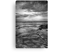 The Entrance, B&W Canvas Print