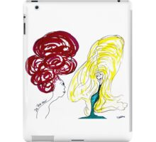 da big hair  iPad Case/Skin