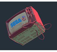 RETRO-CRT - SEGA Sonic the Hedgehog Photographic Print