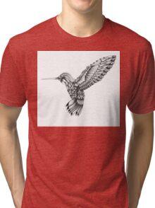 Ornate Colibri Tri-blend T-Shirt