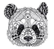 Panda by psydrian