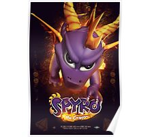 Spyro the Dragon - Fire Breather Poster