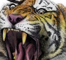 Tiger Rawr Sticker