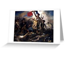 Liberty Leading The People -- French Revolution Greeting Card