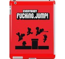 Everybody jump iPad Case/Skin