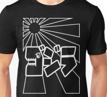 Godzilla Kanji-Wht Unisex T-Shirt