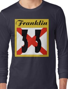 ALABAMA:  33 FRANKLIN COUNTY Long Sleeve T-Shirt