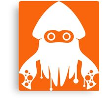 Super Splatoon Bros. (Orange) Canvas Print