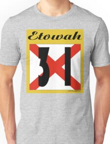 ALABAMA:  31 ETOWAH COUNTY Unisex T-Shirt
