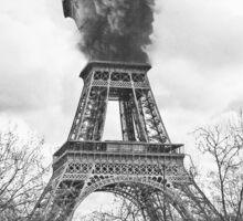 paris is burning [fadedtee] Sticker
