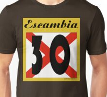ALABAMA:  30 ESCAMBIA COUNTY Unisex T-Shirt