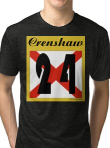 ALABAMA:  24 CRENSHAW COUNTY Tri-blend T-Shirt
