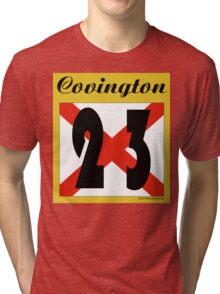 ALABAMA:  23 COVINGTON COUNTY Tri-blend T-Shirt