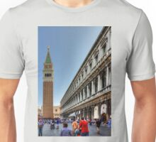 St Mark's Basilica and Procuratie Nuove Unisex T-Shirt
