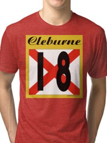 ALABAMA:  18 CLEBURNE COUNTY Tri-blend T-Shirt