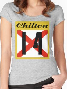 ALABAMA:  14 CHILTON COUNTY Women's Fitted Scoop T-Shirt