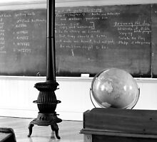 Amish classroom in Lancaster County, Pa by al holliday