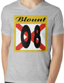 ALABAMA:  08 BLOUNT COUNTY Mens V-Neck T-Shirt