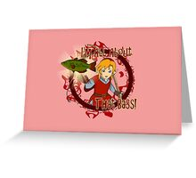 All About That Bass - Red Link Greeting Card