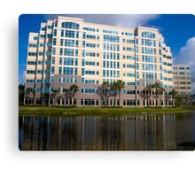Modern Office Building Architecture Canvas Print