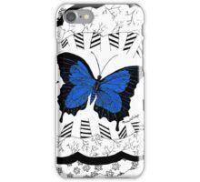 Blue Morpho Butterfly iPhone Case/Skin