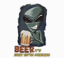 Beer It's What We're Drinking by mdkgraphics