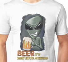Beer It's What We're Drinking Unisex T-Shirt