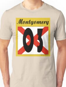 ALABAMA:  03 MONTGOMERY COUNTY Unisex T-Shirt