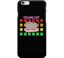 Techno Cat iPhone Case/Skin