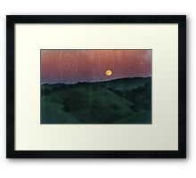 Somewhere Out There Framed Print