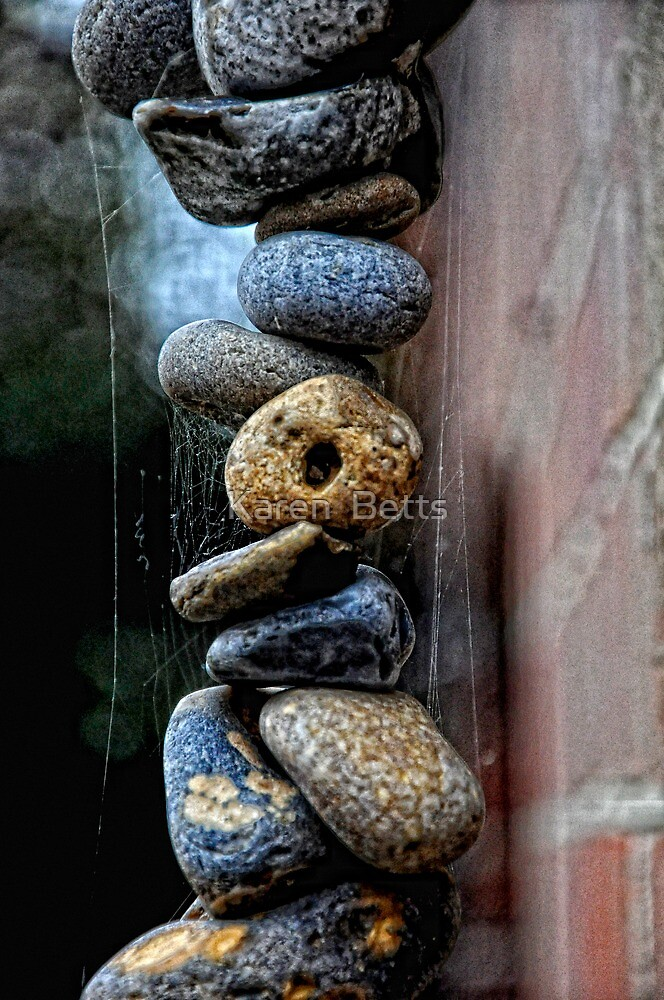 Holey Stones by Karen  Betts
