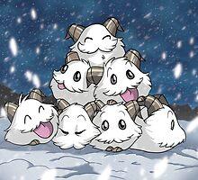 Snowy Poros by rlfedun