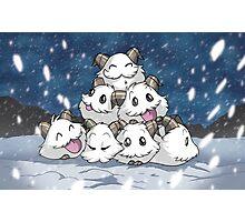 Snowy Poros Photographic Print