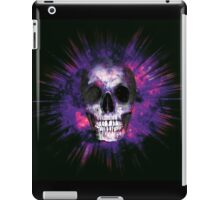 Purple Skull Explosion  iPad Case/Skin