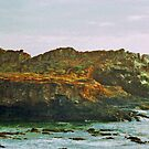 Coastal Cliffs photo painting by randycdesign